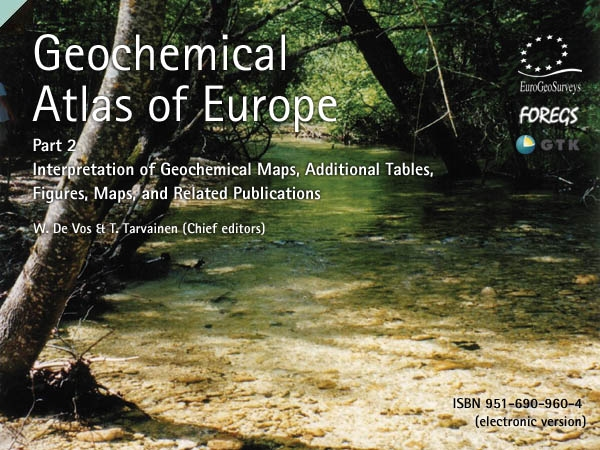 Geochemical Atlas of Europe – Part II