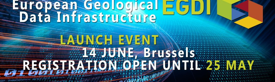 Launch of the first European Geological Data Infrastructure
