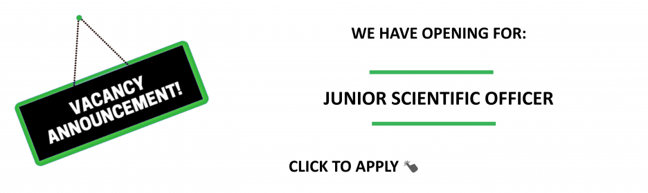 Junior Scientific Officer Job
